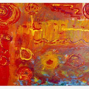 Acrilici - Tempesta di Sole